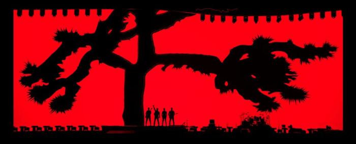 U2 joshua tree tour
