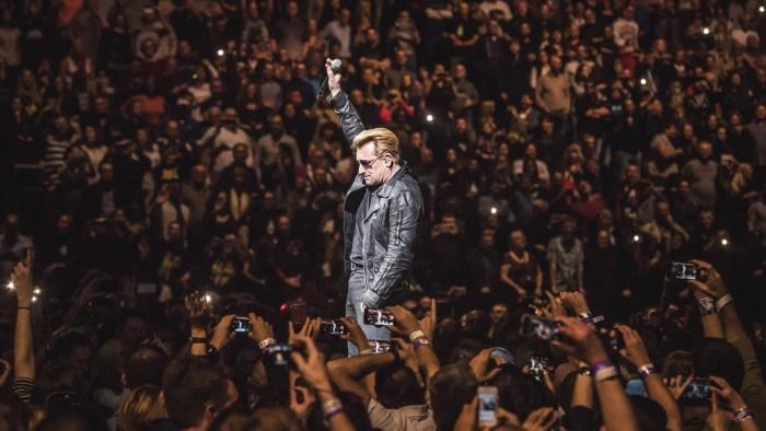 U2 Perform At O2 Arena In London