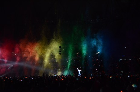 Coldplay live in Buenos Aires