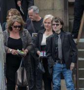 Malcolm Young - La famiglia al funerale