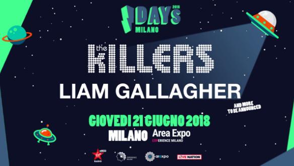 the-killers-liam-gallagher-idays-festival-2018-concerto-foto