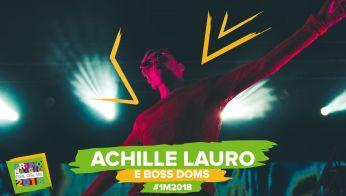 Achille Lauro e Boss Doms