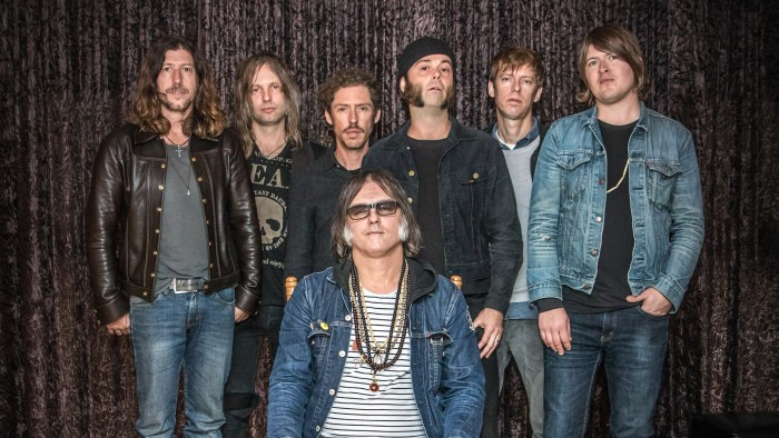 Brian Jonestown Massacre band Anton Newcombe foto