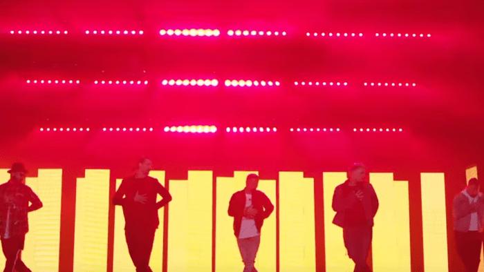 Backstreet Boys video Don't go breaking my heart 2018