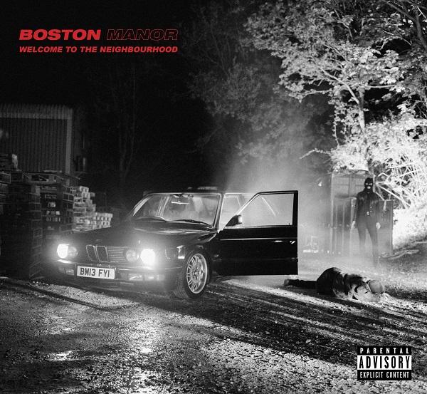 boston manor copertina album welcome to the neighbourhood