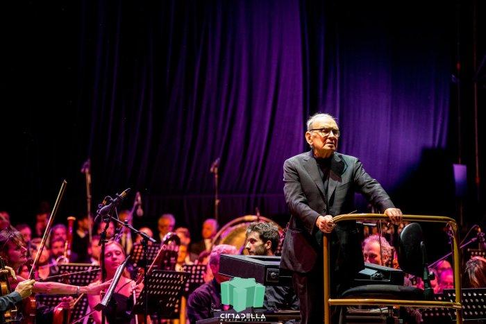 Ennio Morricone live Cittadella Music Festival, Parma - Foto di Riccardo Trudi Diotallevi Photography