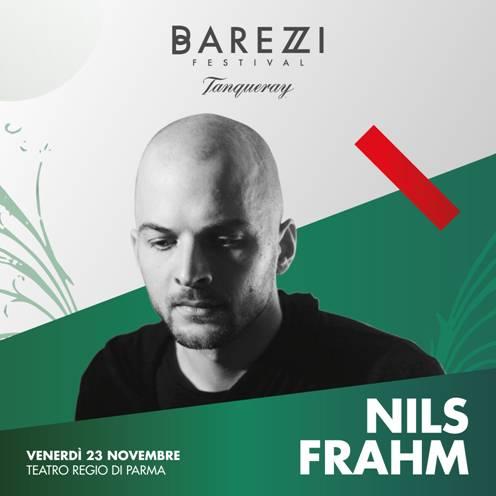 nils frahm locandina concerto parma 23 novembre 2018