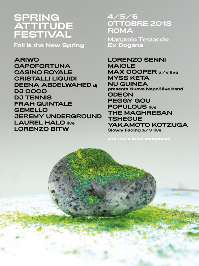 spring attitude festival fall is the new spring 4-6 ottobre roma 2018