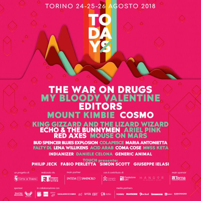 todays festival 2018 lineup completa