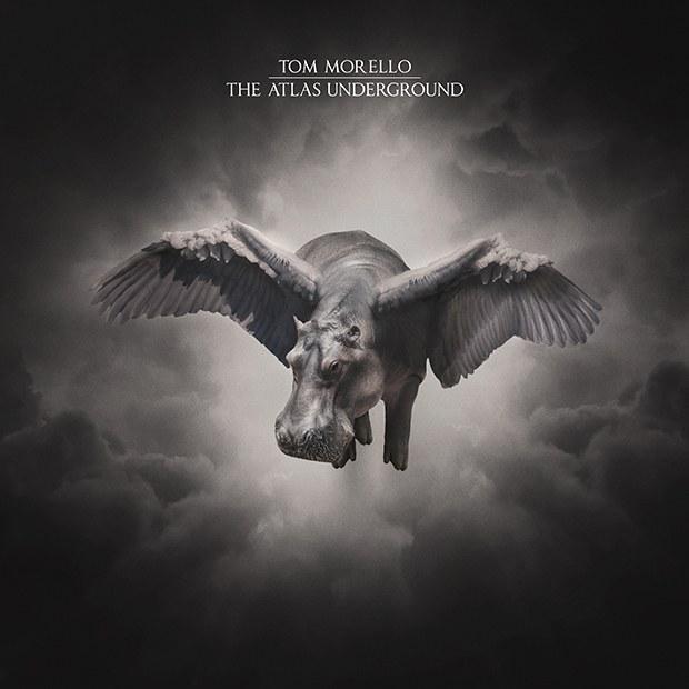 "Tom Morello cover copertina album ""the atlas underground"""