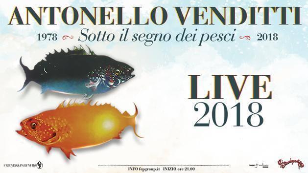 Antonello Venditti concerto 21 dicembre 2018 al Palalottomatica di Roma