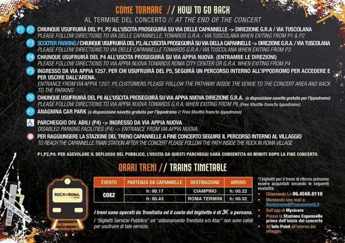 Coez concerto sabato 7 luglio 2018 Rock in Roma parcheggi e info come tornare