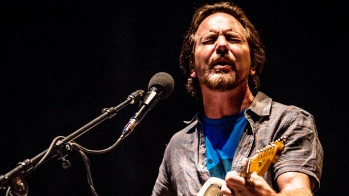 Eddie Vedder Global Citizen Festival 2018 per i 100 anni di Nelson Mandela