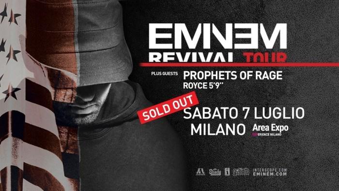 Eminem mappa, parcheggi, norme di comportamento, orari, info concerto Milano 7 luglio 2018