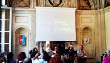 Conferenza stampa Sponf Fest 2018 con Vinicio Capossela presso la Società Dante Alighieri, Roma