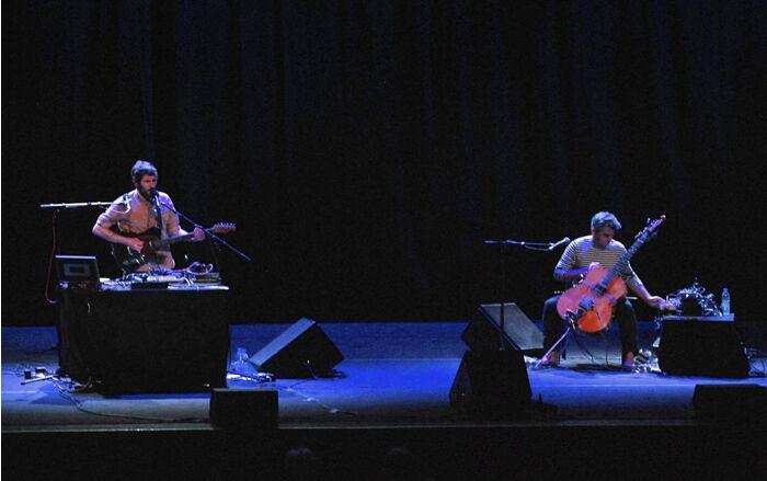 iosonouncane e paolo-angeli concerto Villa Ada Roma 3 agosto 2018
