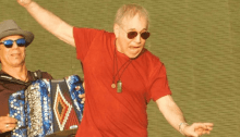 "Paul Simon ""Farewell World Tour"" concerto British Summer Time Hyde Park, Londra 15 luglio 2018"