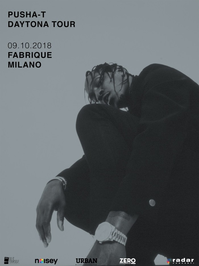 Pusha T concerto 9 ottobre 2018 Fabrique, Milano