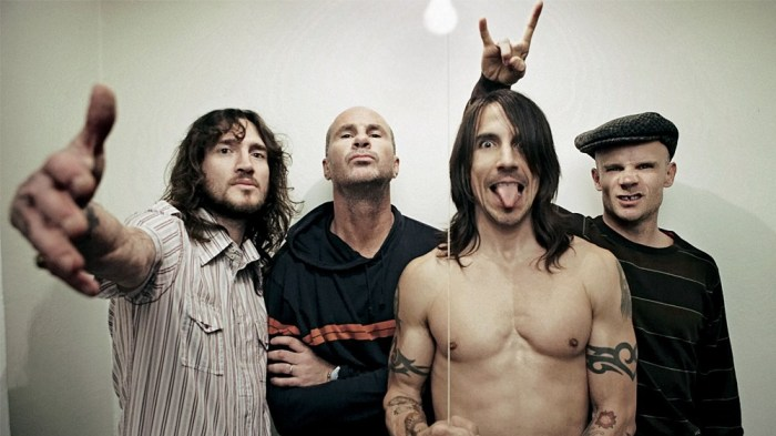 Red Hot Chili Peppers band foto