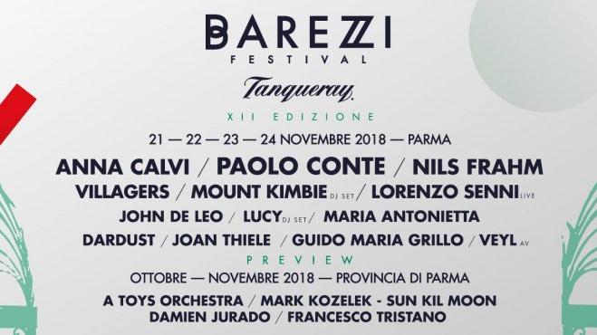 Barezzi Festival lineup 2018 Parma