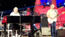 brian wilson 11 agosto 2018 concerto taormina foto