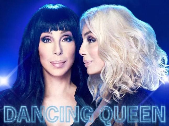 "cher ""dancing queen"" cover copertina album foto"