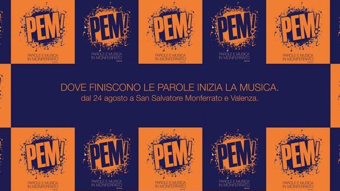 PeM - Parole e Musica in Monferrato 2018 programma