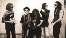 """primal scream """"give out but don't give up: the original memphis recordings"""" band foto"""