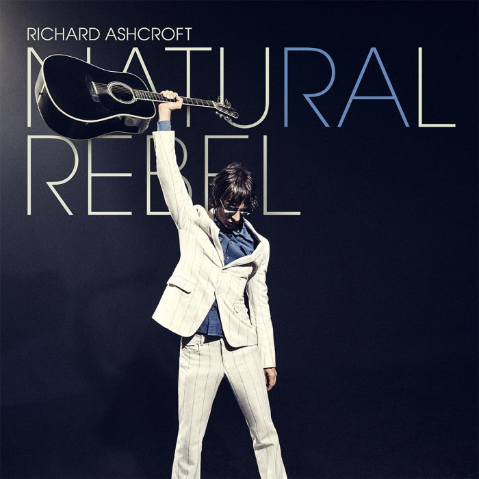 "Richard Ashcroft cover copertina nuovo album ""Natural Rebel"""