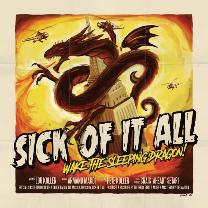 """Sick Of It All, esce il 2 novembre il nuovo album """"Wake The Sleeping Dragon!"""", tre concerti in Italia a Milano, Roma e Bologna"""