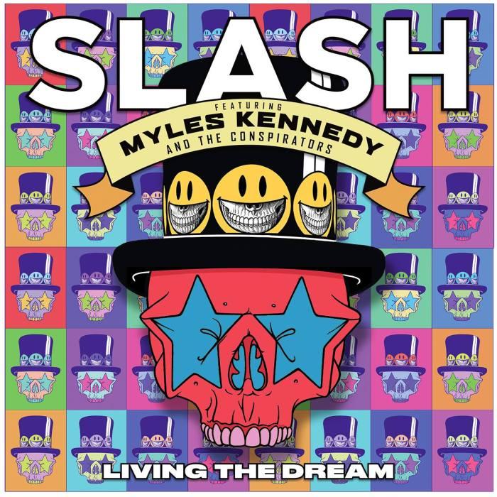 """Slash feat. Myles Kennedy & The Conspirators cover copertina album """"Living The Dream"""" in uscita il 21 settembre"""