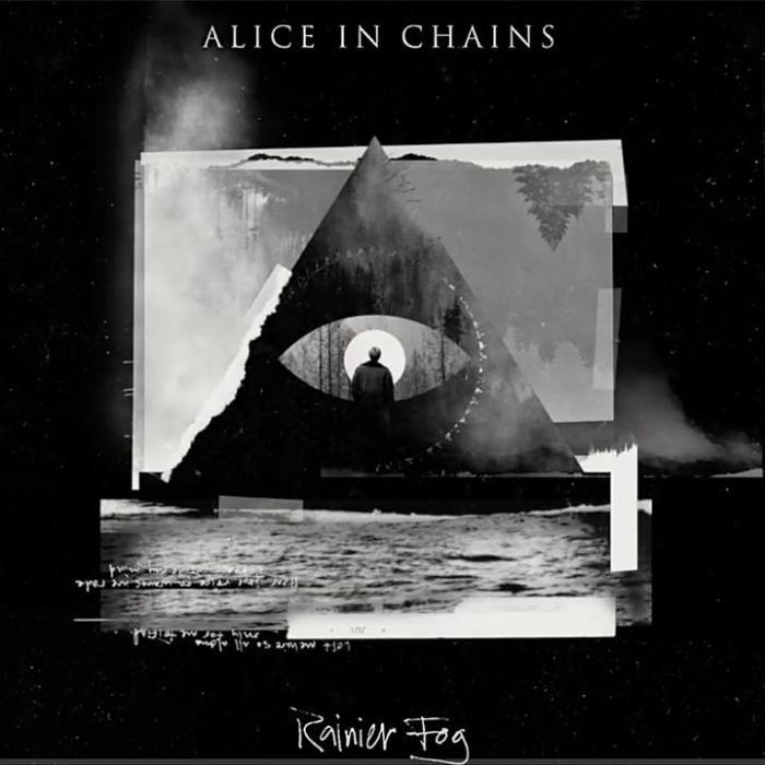"""Alice In Chains copertina cover """"Rainier Fog"""" recensione End of a Century"""