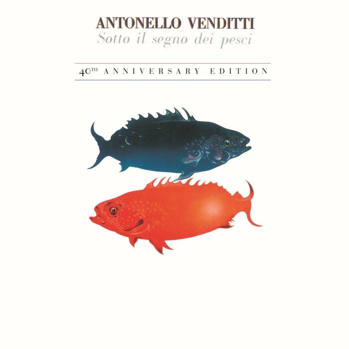 """Antonello Venditti cover copertina """"Sotto Il Segno Dei Pesci - 40 Anniversario"""""""