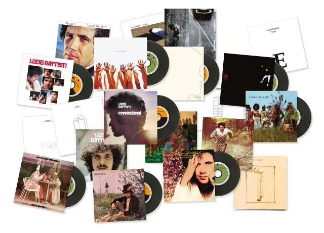 Escono il 14 settembre tutti gli album rimasterizzati di Lucio Battisti per Sony Music