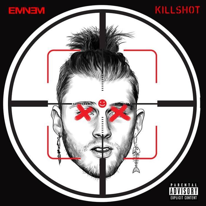 """Eminem cover copertina singolo """"Killshot"""" Machine Gun Kelly"""