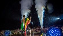 Imagine Dragons, Dan Reynolds davanti ai 60.000 spettatori di Milano Rocks, foto di Milano Rocks