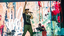"MIke Shinoda in concerto al Milano Rocks sabato 8 settembre ha presentato il primo album solista ""Post Traumatic"""