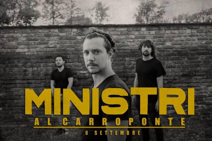 """Ministri la recensione del concerto al Carroponte di Milano sabato 8 settembre 2018 per il tour dell'ultimo album """"Fidatevi"""""""