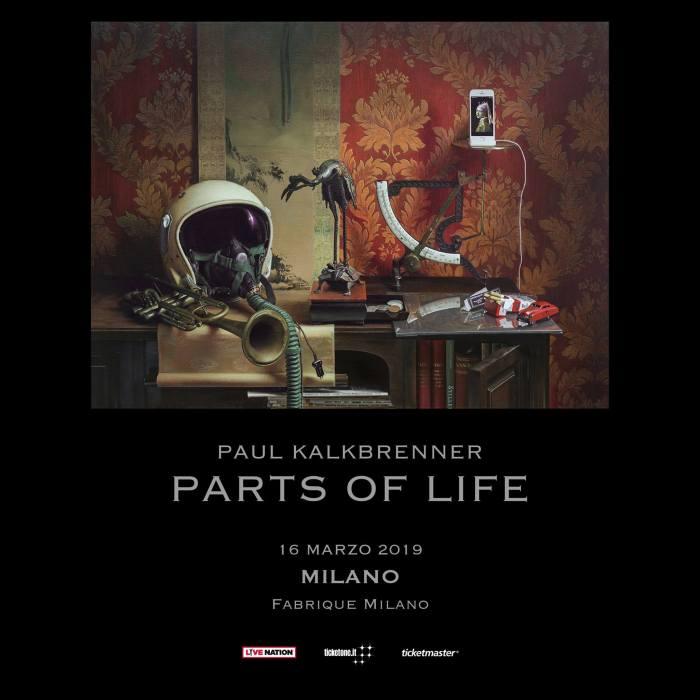 """Paul Kalkbrenner dal vivo il 16 marzo 2019 al Fabrique di Milano con """"Parts Of Life"""""""