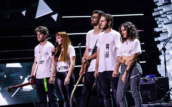Seveso Casino Palace dal vivo nella prima puntata di audizioni di X Factor Italia 12
