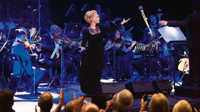 Patty Pravo in concerto al Teatro Romano di Verona