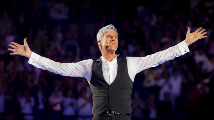 """CLaudio Baglioni inizia il suo """"Al Centro Tour"""" dal Nelson Mandela Forum martedì 16 ottobre"""