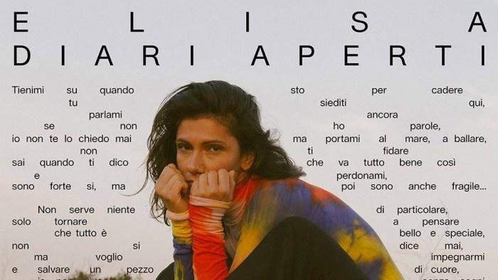 """Elisa Toffoli ha pubblicato il nuovo e decimo album """"Diari Aperti"""" con i singoli """"Quelli Che Restano"""", Se Piovesse Il Tuo nome"""" e """"Promettimi"""""""