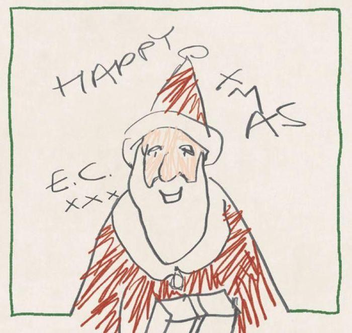 """Eric Clapton pubblicherà il 12 ottobre il nuovo album """"Happy Xmas"""", copertina ocover"""