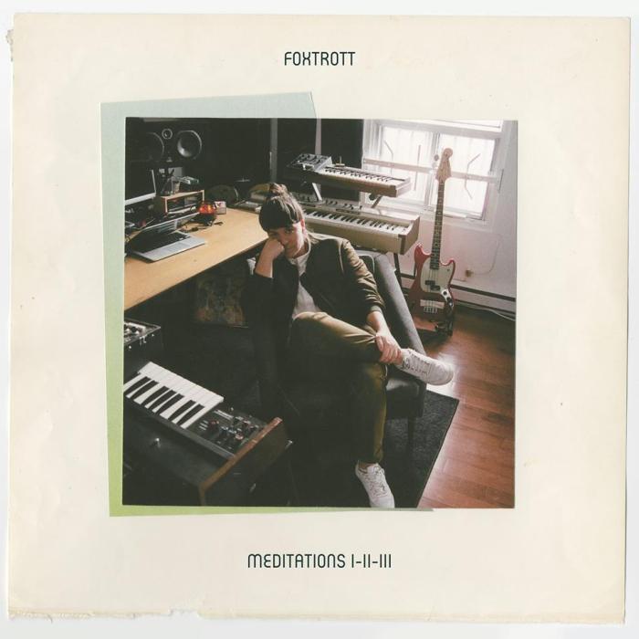 """Cover copertina album """"Meditations I-II-III"""" Foxtrott"""