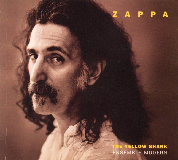 """Frank Zappa cover copertina album """"The Yellow Shark"""" diretto a Roma da Peter Rundel"""