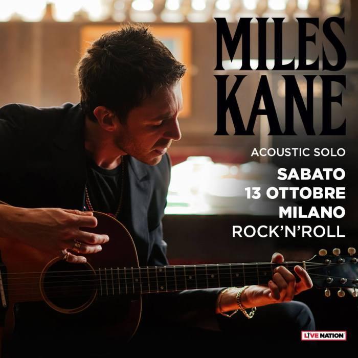 Miles Kane in concerto gratuito sabato 13 ottobre al Rock'N'Roll di Milano