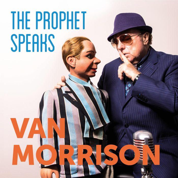 "Cover copertina album ""The Prophet Speaks""di Van Morrison"