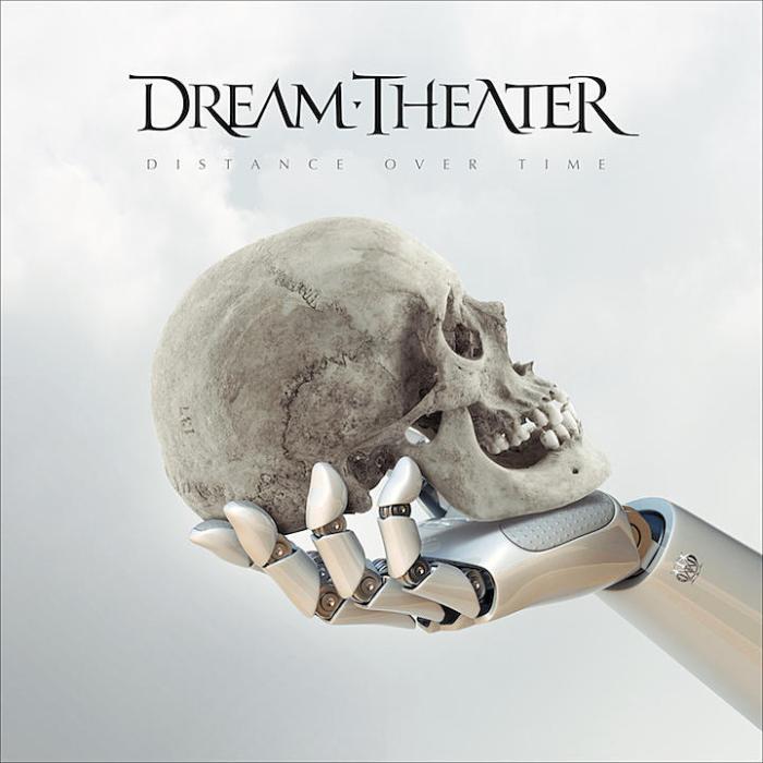 """Dream Theater cover copertina album """"Distance Over Time"""""""