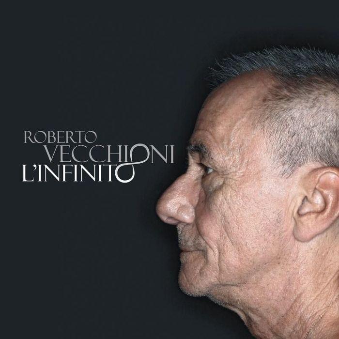 """Roberto vecchioni cover copertina nuovo album """"L'Infinito"""""""